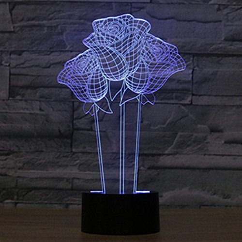 Led Flashing Flower Light - 9