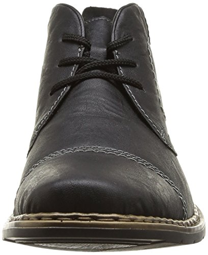 Rieker 30820 Herren Desert Boots Schwarz (schwarz/granit / 00)