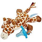 "Dr. Brown's Gerry the Giraffe Lovey Pacifier and Teether Holder | 3"" L x 4.4"" W x 7.5"" H (Pacifier and Teether Holder) … (Pacifier and Teether Holder)"