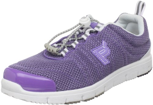 Propet Womens Travel Walker W Sneaker Lilac/White Mesh