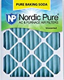 Nordic Pure 12x20x2PBS-3 Pure Baking Soda Air Filters (Quantity 3), 12'' x 20'' x 2''