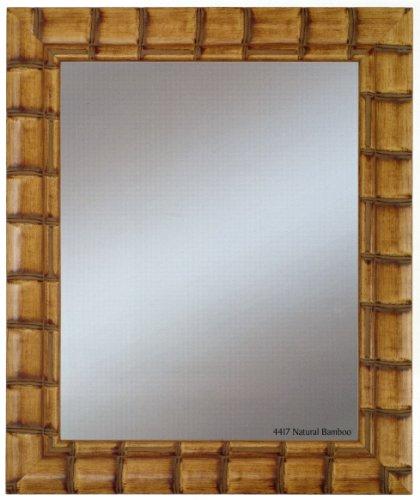 alpine art and mirror bali natural bamboo wall mirror