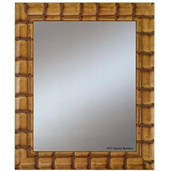 alpine art and mirror bali natural bamboo wall mirror - Bamboo Mirror