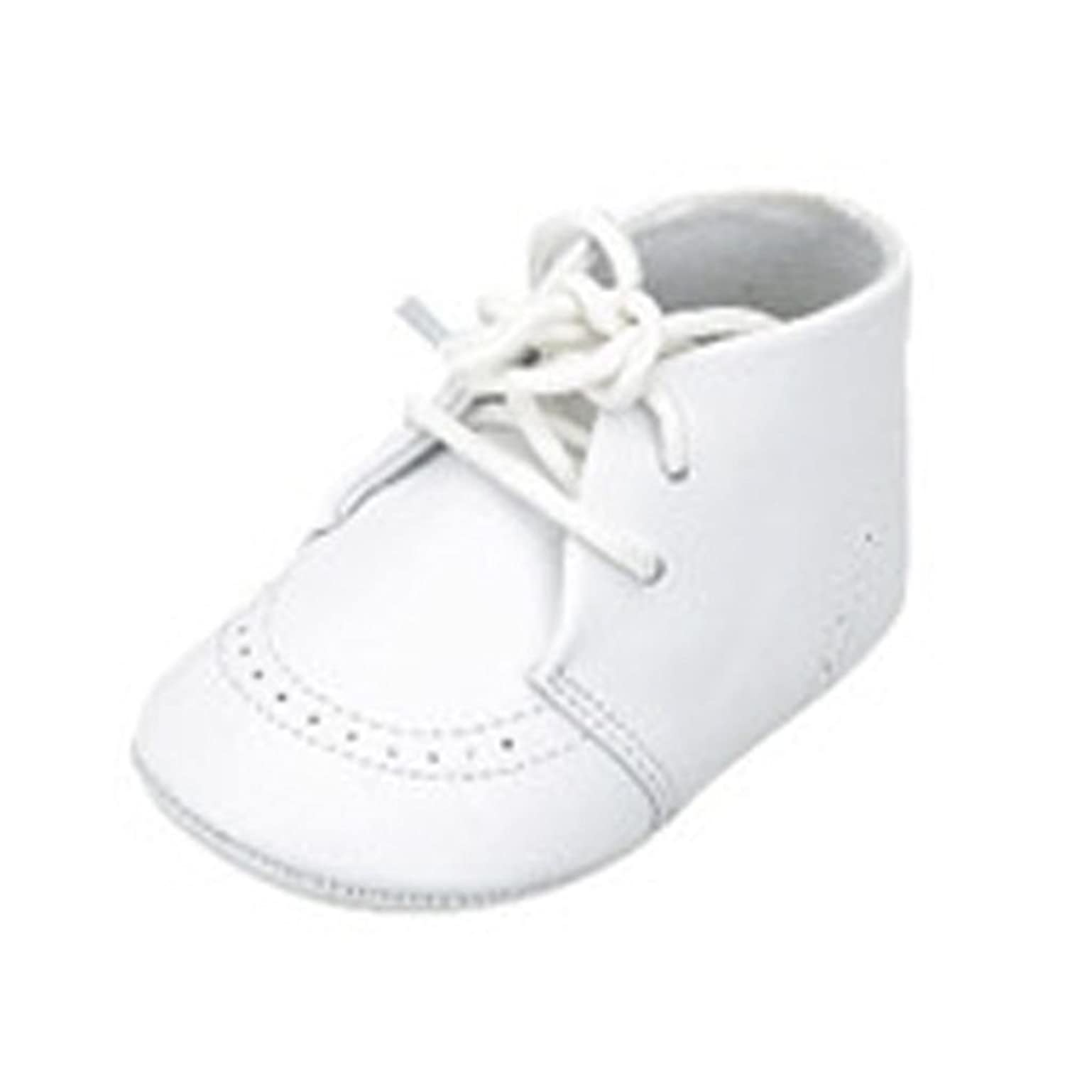 Amazon Infant Baby Boys White Christening Soft Sole Crib Shoes