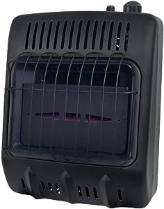 Mr. Heater Vent-Free 10,000 BTU Blue Flame Propane Icehouse Heater - Black Multi