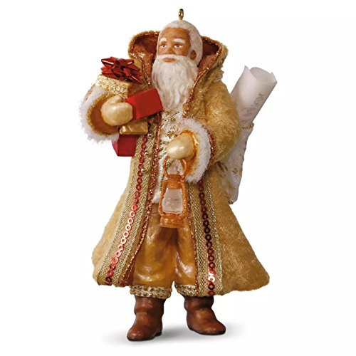 Hallmark 2016 Christmas Ornaments African-American Father Christmas Ornament