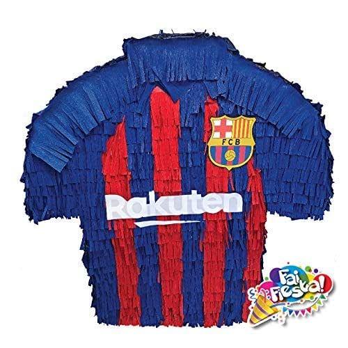 Piñata a forma de la camiseta Barcelona. Juego de la piñata ...