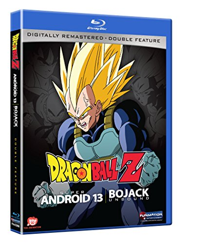 Dragon Ball Z: Android 13/ Bojack Unbound (Double Feature) [Blu-ray] (Dragon Ball Super Part 2 Blu Ray)