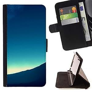 Jordan Colourful Shop - mountain view landscape horizon sunrise For Samsung Galaxy Note 3 III - < Leather Case Absorci????n cubierta de la caja de alto impacto > -
