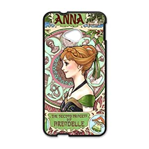 QQQO Frozen Princess Anna Cell Phone Case for HTC One M7