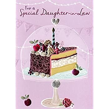 Special Daughter In Law Birthday Greeting Card Second Nature Daydreams Cards