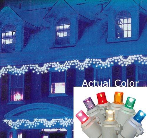 Vickerman Multicolored LED Wide Angle Swag Christmas Ligh...