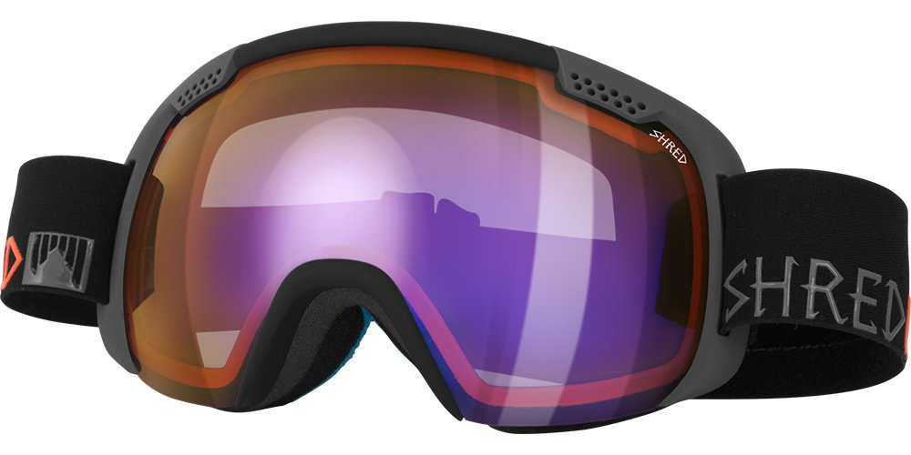Shred Smartefy Popsicle Light Lens Goggles, Black by SHRED (Image #1)