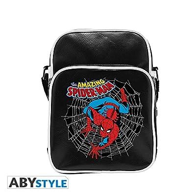 ABYstyle Marvel Sac à bandoulière–Spider-Man Vintage Mixte adulte, S, abybag210