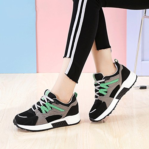 up Black Simple Women Lace Student Color Shoes Fashion Dream Outdoor Shoes Casual Shoes Shoes Flat 39 Sports Low Size Rise Comfortable wpUIqwE
