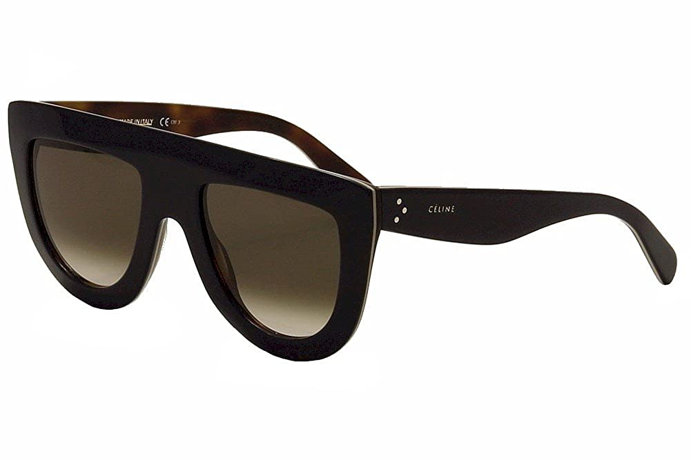 4f87c8cfae82 Amazon.com  Celine 41398 S 273 Blue Beige Havana Andrea Aviator Sunglasses  Lens Category 3  Clothing