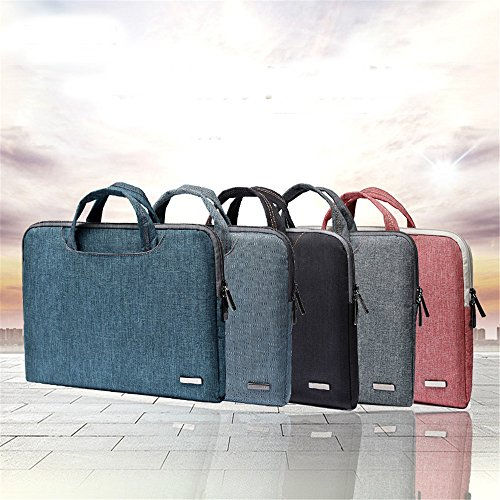 Laptop Light H functional Thin Computer Shoulder Portable Pocket Briefcase Bag Notebook Multi Case For ICpqtwOq