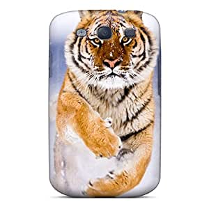 Sanp On Case Cover Protector For Galaxy S3 (bengal Tiger)