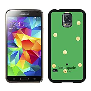 Beautiful and Custom Kate Spade New York Black Phone Case for Samsung Galaxy S5 I9600 in Grace Protective 016