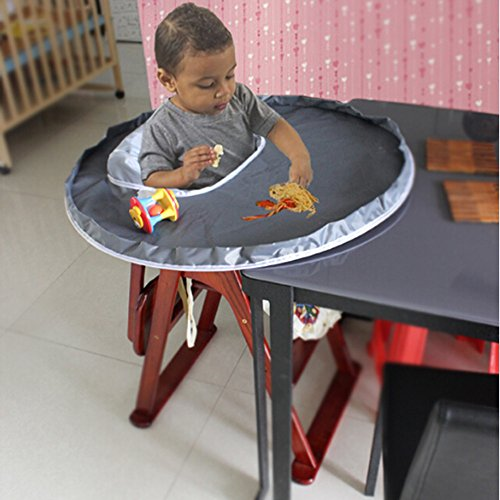 Foldable New Baby Boys Girls Feeding Dinner Mat Cover Waterproof Highchair Bumper Pad Placemat, Saucer Cambridge High Chair Cover