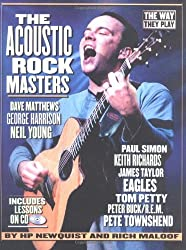 The Acoustic Rock Masters: The Way They Play Includes Lessons on CD