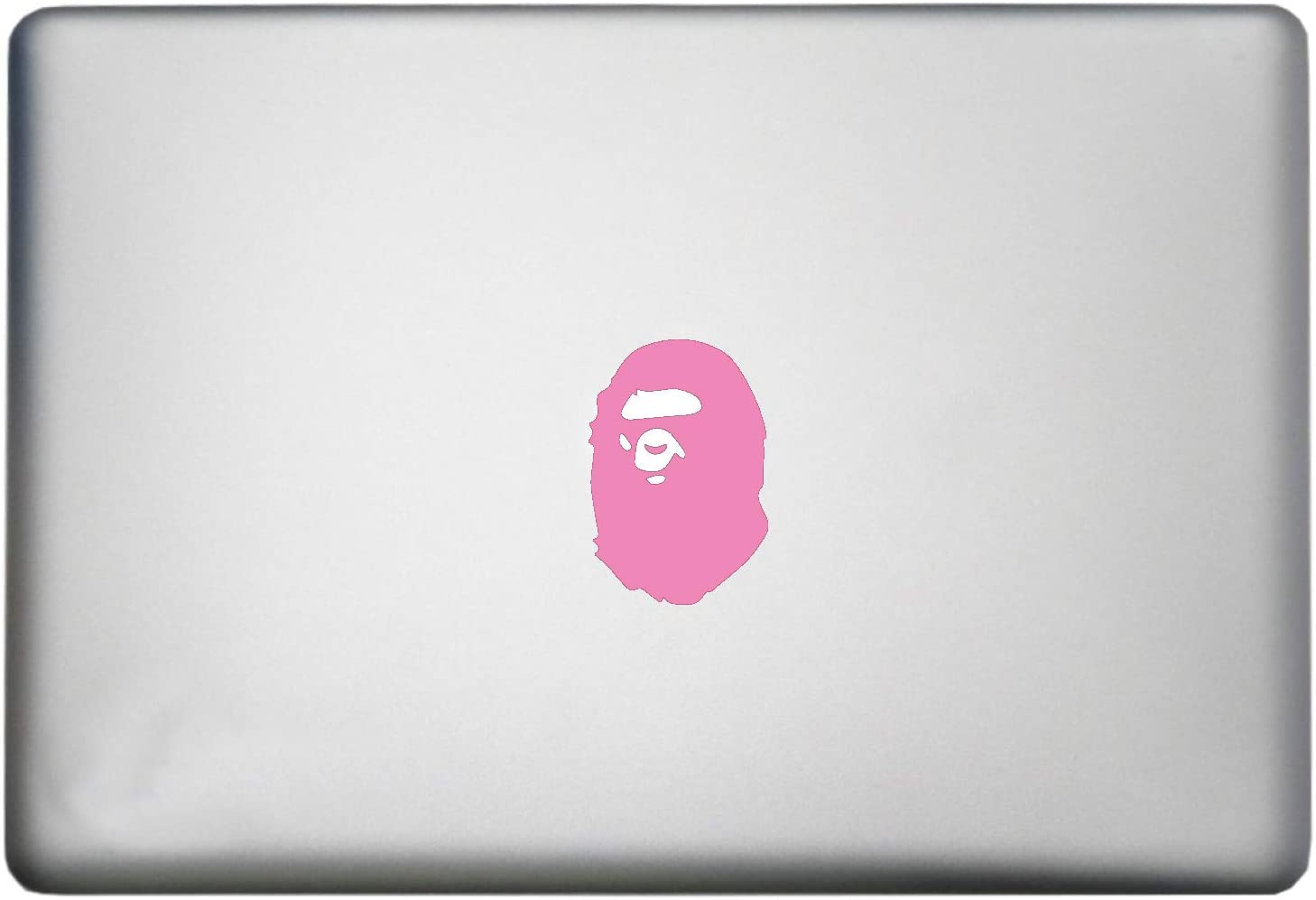 Gorilla Bape Ape Sticker MacBook Decal is a Bathing Ape Woodland Animals Decal. Laptop Sizes 11, 12, 13 and 15 inch. Looks Great with Your Zoo Animals Theme. Many Colors-Soft Pink