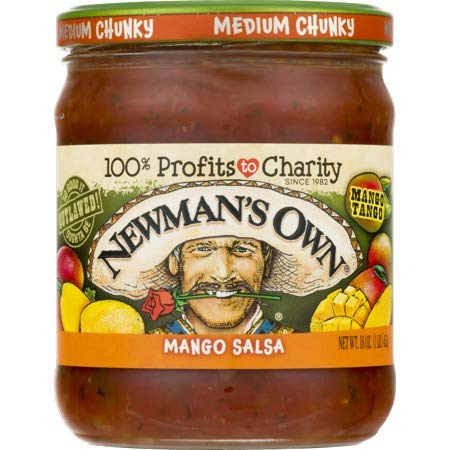 Newman's Own: Mango Medium Salsa, 16 oz - 5 Pack by Newman's Own: (Image #4)