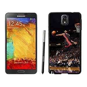 Papers Co He Lebron James Dunk Nba Sports Art Basketball Iphone Wallpaper Black Case for Samsung Note 3,Prefectly fit and directly access all the features