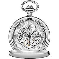 OUYAWEI Brand Watch Pocket Watch Mechanical Men Vintage Watch W/Chain Antique Fob Watches Relogio Bolso