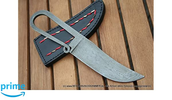 Cuchillos de Damasco Cinturón Cuchillo Cuchilla Muelle de ...