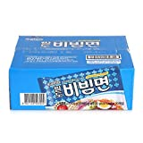 Paldo korean Bibim-myun, Cold Noodle instant ramen, sweet spicy sauce, 130g (Pack of 20)