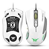 Combatwing CW10 Gaming Mouse with Customizable DPI for Windows 98/ 2000/ ME/ NT / XP/ Win 7/ Win 8/ Win 10/ Mac OS and other OS, plug & play (white)