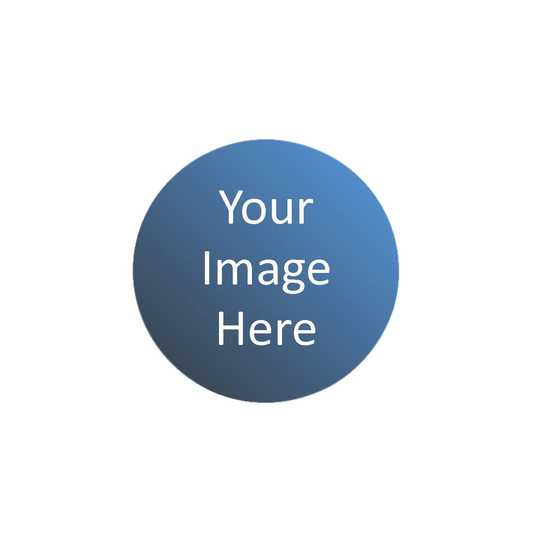 uberpong Ping Pongカスタマイズ可能なボール – カスタマイズテーブルテニスボール作成のカスタムロゴ B07FZ1S1XD ブルー