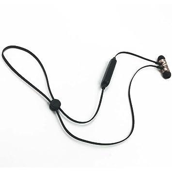 Mioloe Auriculares inalámbricos Bluetooth 4.1 Estéreo Auriculares portátiles magnéticos Cancelación de Ruido con micrófono: Amazon.es: Electrónica