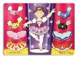 : Melissa & Doug Ballerina Dress-Up Wooden Peg Puzzle