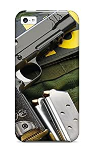 New Premium KxGhFNE12362DhgdV Case Cover For Iphone 5c/ Gun Protective Case Cover