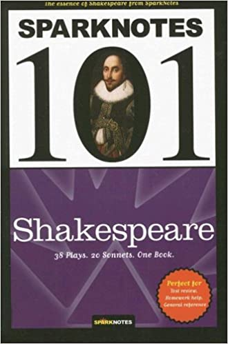 Amazoncom Shakespeare Sparknotes 101 9781411400276 Sparknotes