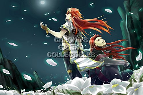 CGC Huge Poster - Tales of the Abyss - PS2 - TAL030 (24