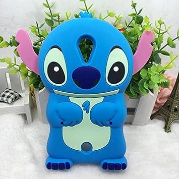Desconocido Wiko Tommy Pattern Lilo y Stitch Case Funda Protectora 3D Pattern Lilo y Stitch Pink Funda de Silicona Gel Estuche: Amazon.es: Electrónica