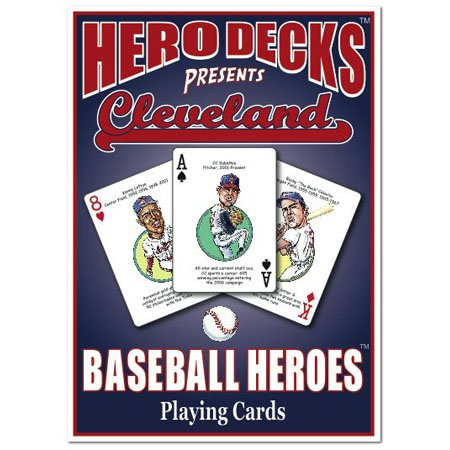 Hero Decks - Cleveland Indians - Playing Cards