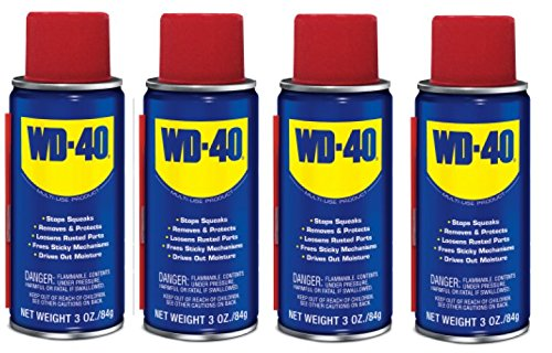 Wd 40 Spray Lubricant Flammable Aerosol