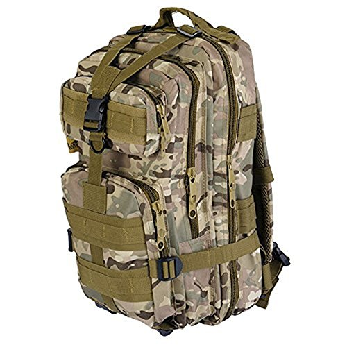 Military Tactical Assault Pack Backpack Army Bag Waterproof Bag Out Bag Backpacks Outdoor Hiking Camping Trekking Hunting Bag (OD GREEN)