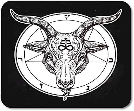 Alfombrillas para ratón Pentagrama con demonio Baphomet Cabeza de ...