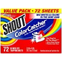 72-Count Shout Color Catcher Sheets for Laundry