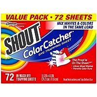 72-Count Shout Color Catcher Sheets for Laundry