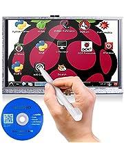 Kuman Écran Tactile Résistif de 5 Pouces pour Raspberry Pi 3B+/3B 2 Model B RPi 1 B B+ A A+ avec Boîtier de Protection 800x480 LCD HDMI TFT Display, Panneau de Touches, Carte SD et Un Stylo SC5AC