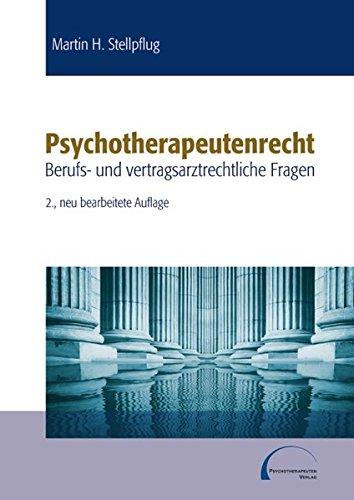 psychotherapeutenrecht-berufs-und-vertragsarztrechtliche-fragen
