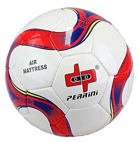 Perrini Colchón de aire tamaño oficial 5 balón de fútbol rojo y ...