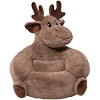 Trend Lab Childrens Plush Chair, Moose