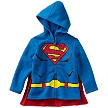 Super Heroes Little Boys Hooded Sweatshirts with Cape, Toddler Sizes 2T-4T